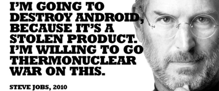 Steve Jobs on Android