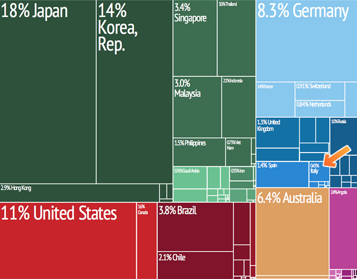 China Italy Imports